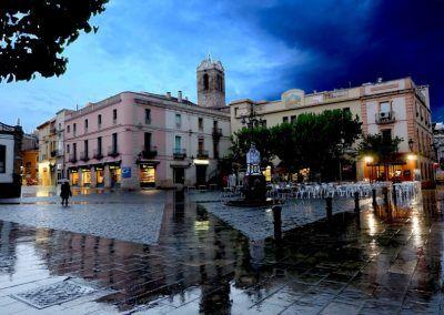 Plaça Prat de la Riba maig 2016
