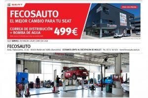 cambio aceite Fecosauto S.L. Mollet del Vallès, Barcelona, Servicio Oficial SEAT/Volkswagen, el mejor cambio para tu SEAT