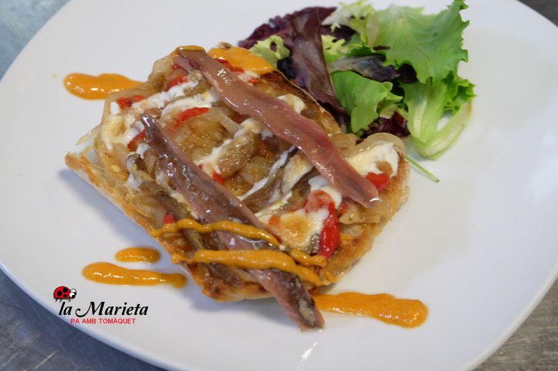 Restaurante La Marieta, Mollet del Vallès, Barcelona, cenas de empresa, menús especiales, menú diario 11,60€