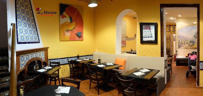 Restaurante La Marieta, íntimo y familiar, menú diario especial, aniversarios,cenas románticas, comuniones, bodas y celebraciones en Mollet del Vallès