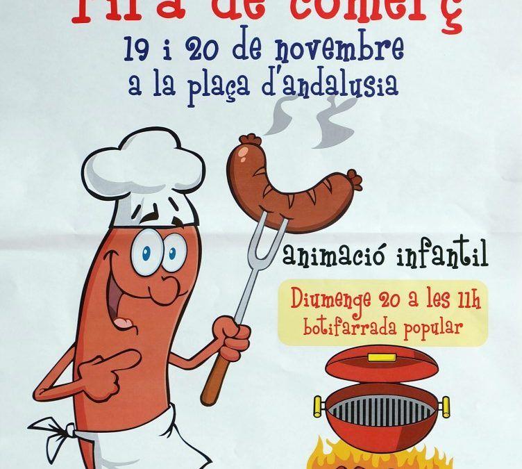 Edición de Fira Comerç Riera Seca, BUTIFARRADA POPULAR, amb beguda 3€, Comercios Mollet
