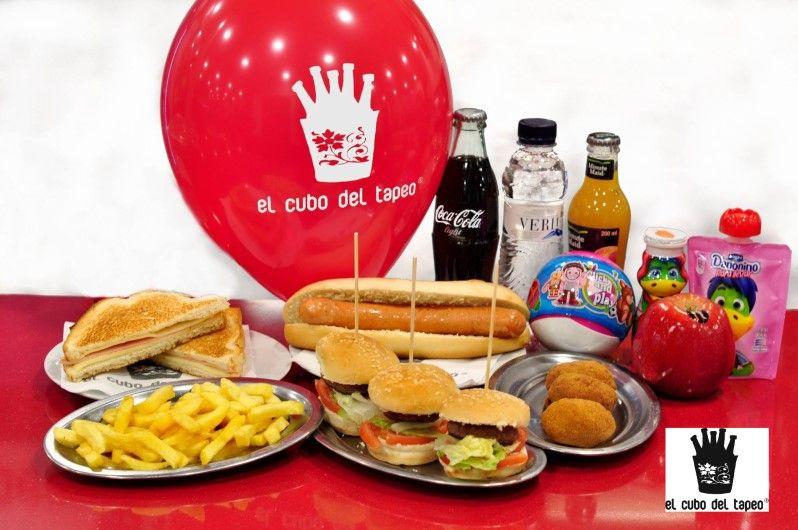 Nuevas tapas de El cubo del tapeo, menú infantil, en Mollet del Vallès, Barcelona, tel. 93 016 13 54