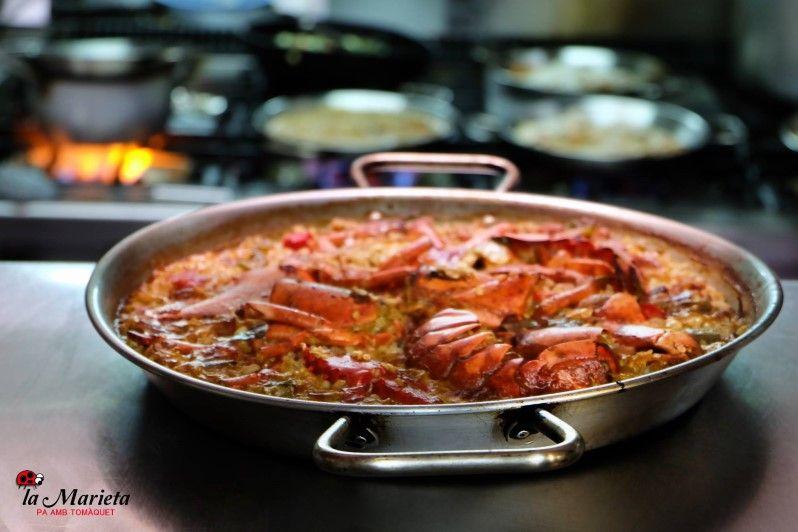 Restaurante La Marieta, Mollet del Vallès,Barcelona, tel. 93 593 31 83, menú especial sábados 23€
