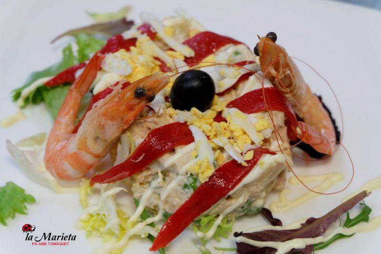 Restaurante La Marieta, Mollet del Vallès,Barcelona, tel. 93 593 31 83, menú especial sábados 23€ todo incluido