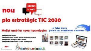 Mollet a web, el comerç i industria dona vida a Mollet, Pla TIC 2030, el futur és ara,Comercios Mollet