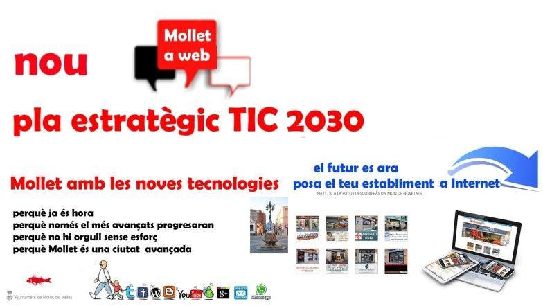 Mollet a web, el comerç i industria dona vida a Mollet, Pla TIC 2030, el futur és ara, Ciutat de l'esport 2017