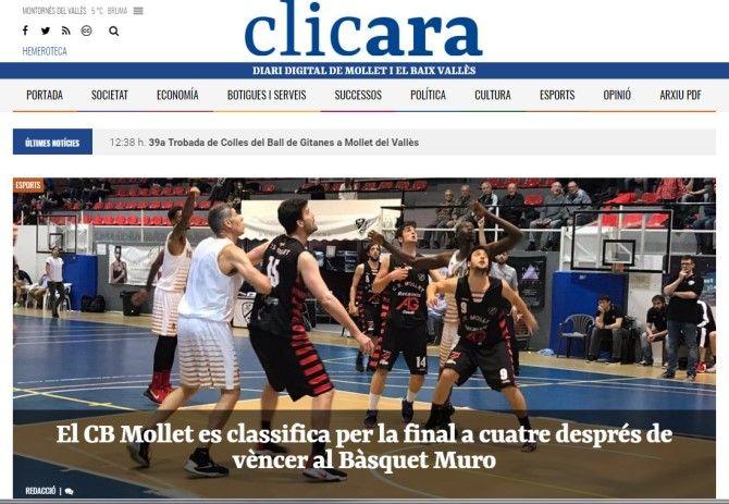 Clicara.cat nou diari digital a Mollet del Vallès i Baix Vallès, l'evolució de  molletama.cat
