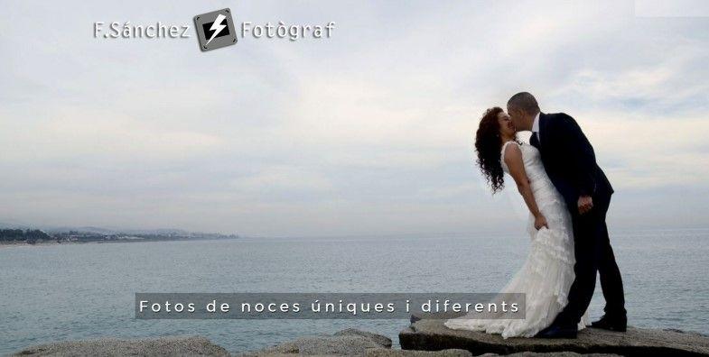 Fotógrafo de boda en Mollet del Vallès F.Sánchez,fotos de noces úniques i diferents