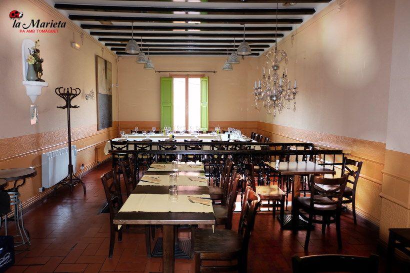 Restaurante La Marieta, Mollet del Vallès,Barcelona, tel. 93 593 31 83, menú comuniones y bautizos 2017, menú especial sábados 23€ todo incluido