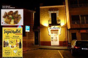 Restaurant La Marieta, Tapa Mollet 2017, Tapa de Cochinillo, comer bien en Mollet del Vallès, tel.935 93 31 83,Comercios Mollet
