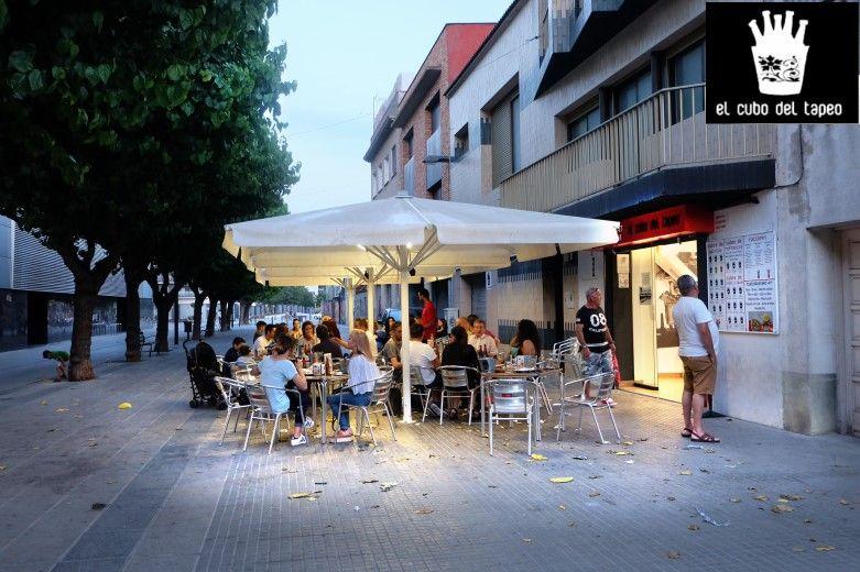 El cubo del tapeo, la mejores tapas en Mollet del Vallès, gran terraza de verano 2017, tel.930 16 13 54