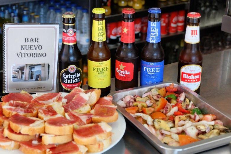 Bar Nuevo Vitorino Mollet del Vallès, Tapa Mollet, billar americano por horas, platos combinados y tapas caseras, café para llevar