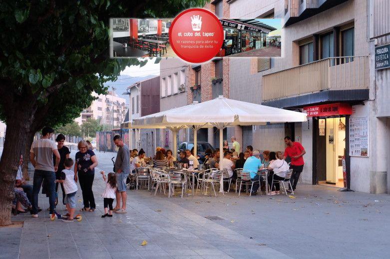 El cubo del tapeo, Mollet del Vallès,Barcelona, las mejores nuevas tapas, gran terraza de verano 2017, tel.930 16 13 54