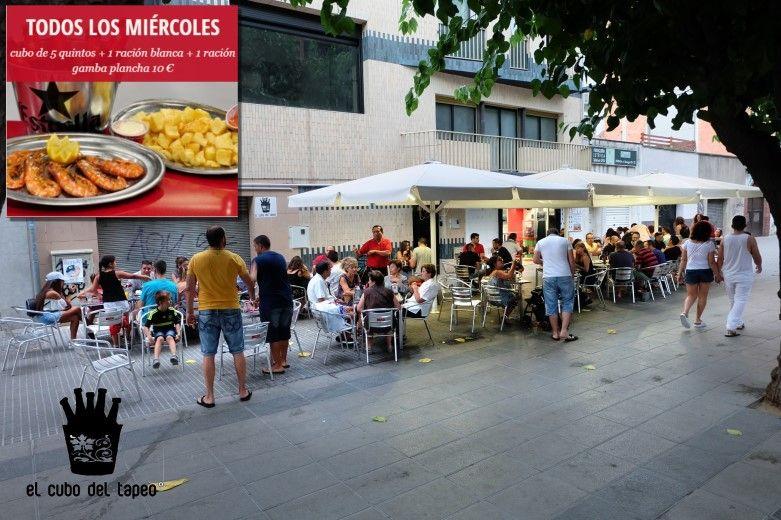 El cubo del tapeo, la mejores nuevas tapas en Mollet del Vallès, gran terraza de verano 2017, tel. 930 16 13 54