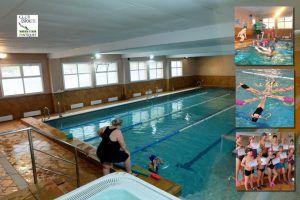 Piscina climatizada en Gimnàs Pantiquet Club Esportiu, Mollet del Vallès Barcelona, tel. 935937750. La natación sincronizada