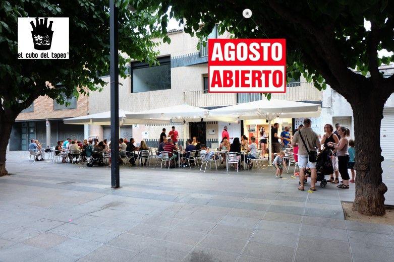 El cubo del tapeo, Mollet del Vallès,Barcelona, las mejores nuevas tapas, gran terraza de verano 2017,abierto agosto, tel.930 16 13 54