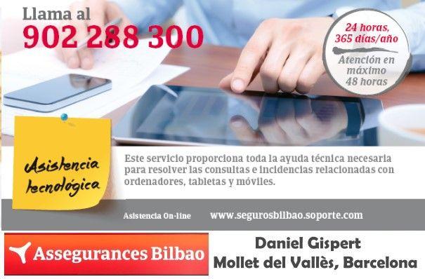 Assegurances Bilbao, Mollet del Vallès, Barcelona, assistència tecnològica, asistencia tecnológica.Comercios Mollet