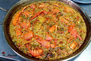 Restaurante La Marieta, cenar en Barcelona paella con bogavante, en Mollet del Vallès, Barcelona