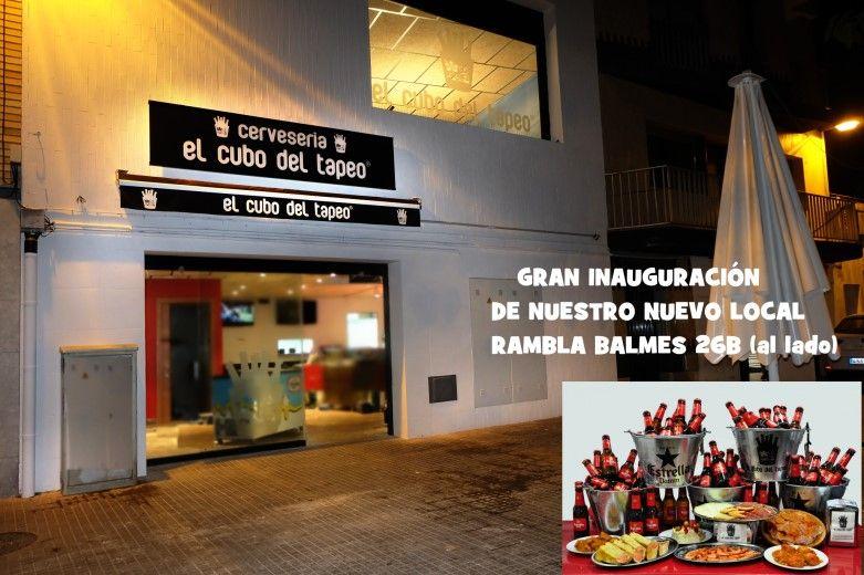 El cubo del tapeo, Mollet del Vallès, Barcelona, tapas Mollet, nuevo local