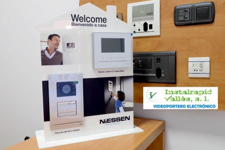 Instalrapid Vallès S.L.Mollet del Vallès, Barcelona, tel.935700906, vídeo porteros digitales ABB para comunidades vecinos.