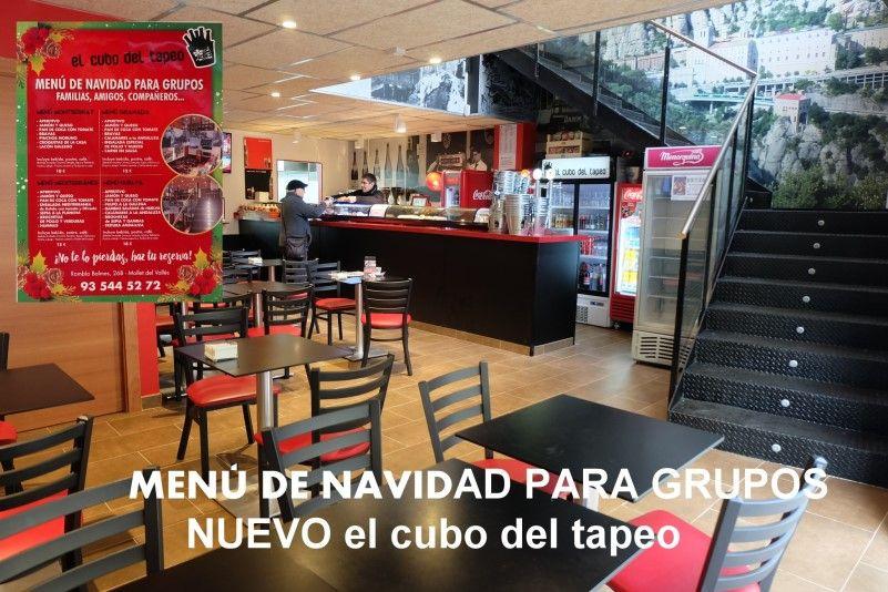 El cubo del tapeo, Mollet del Vallès, Barcelona, tapas Mollet, nuevo local, menú para grupos