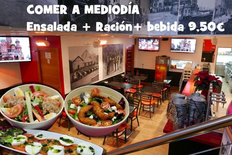 El cubo del tapeo, Mollet del Vallès, Barcelona, tapas Mollet, nuevo local, cubo de cerveza con tapas, rejos, bravas, pinchos