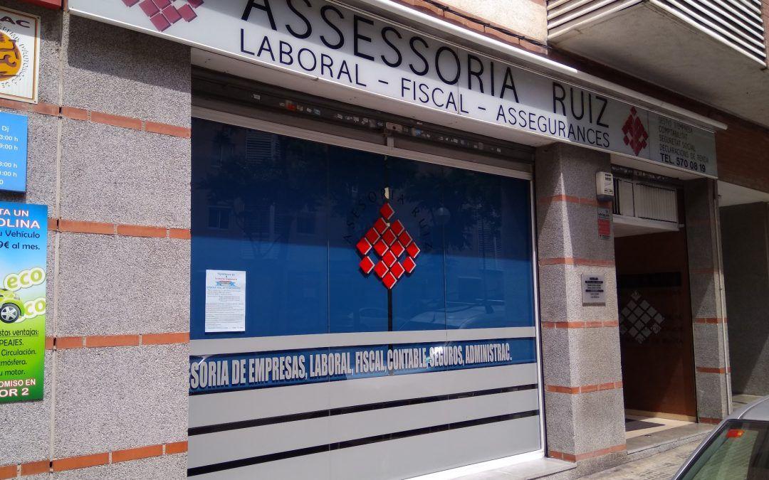 Asesoria Ruiz Mollet del Vallès, laboral, fiscal, contable, primera consulta gratuita,atención muy personalizada