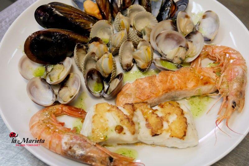 Restaurante La Marieta,Mollet del Valles, Barcelona, íntimo y familiar,especialistas en arroces y carnes , Menú degustación viernes y sábado noches