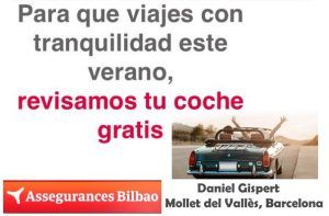Assegurances Bilbao, Mollet del Vallès,Barcelona, seguro de coche con revisión gratuita Autopresto