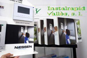 Instalrapid Vallès S.L.Mollet del Vallès, Barcelona, vídeo porteros digitales ABB Niessen Welcome, instalaciones