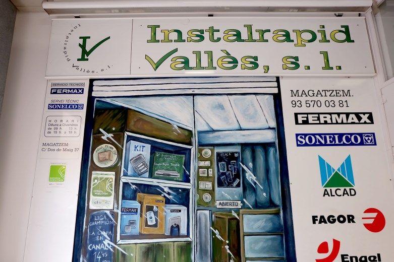 Instalrapid Vallès S.L.Mollet del Vallès, Barcelona, vídeo porteros digitales ABB Niessen Welcome, instalaciones profesionales para comunidades de viviendas