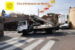 Fira d'Artesans de Mollet 2018, IBBE Instalaciones eléctricas industriales, Montcada i Reixac, Barcelona