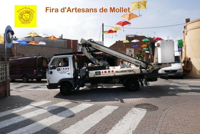 Fira d'Artesans de Mollet 2018, IBBE Instalaciones eléctricas industriales profesionales, Montcada i Reixac, Barcelona
