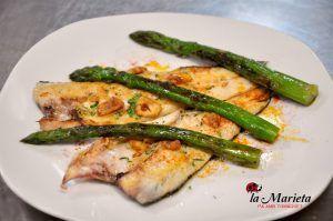 Restaurante La Marieta,Mollet del Valles, Barcelona, íntimo y familiar,Menú degustación. Todos los viernes 25€ y los sábados 30€ , incluye mariscada
