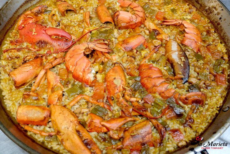 Restaurante La Marieta,Mollet del Valles, Barcelona,comer el mejor arroz en paella mixta, de marisco o de bogavante, menú degustación todos los viernes