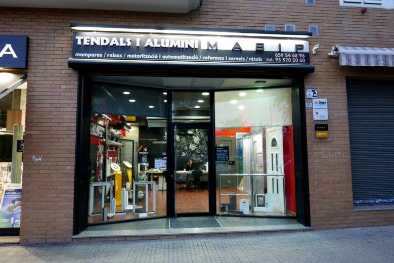 Tendals i aluminis Masip, Mollet del Vallès, Barcelona, carpintería metálica en aluminio