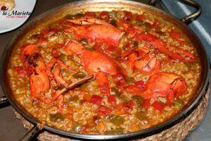 Restaurante La Marieta,Mollet del Valles, Barcelona, el mejor de arroz, comer y cenar en Mollet