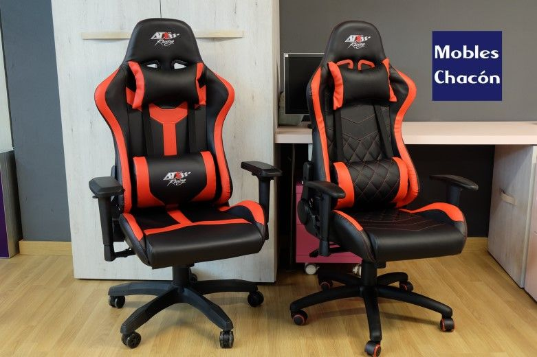 ✅ Las mejores sillas gamer ergonómicas 2019, Mobles Chacón en Mollet