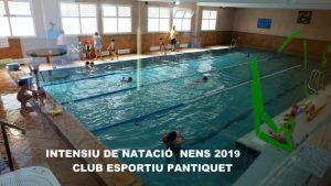 Clases de natación piscina en Mollet de Club Esportiu Pantiquet