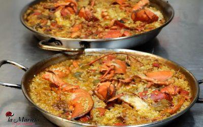 Restaurantes de Mollet del Vallès,La Marieta, Barcelona, paella mixta, menú del día, para cenar y disfrutar.