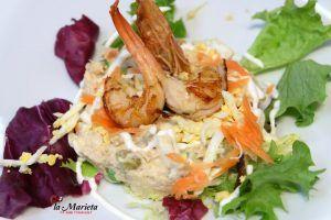 De los mejores restaurantes ensaladas, paellas y carnes a la plancha de Mollet del Vallès, Barcelona , Restaurant la Marieta