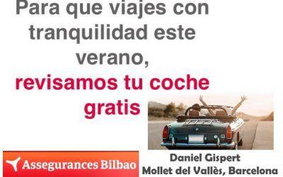 Tu seguro de auto, 2019 ,revisión gratuita de assegurances Bilbao Mollet del Vallès, Barcelona
