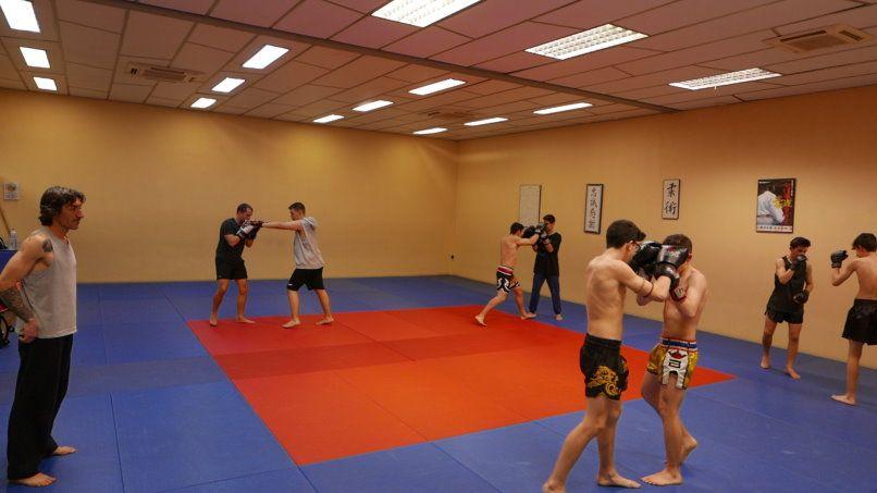 Muay Thai arte marcial en Mollet, Gimnàs Pantiquet, Club Esportiu Pantiquet,Mollet del Vallès,Barcelona, tel. 935937750