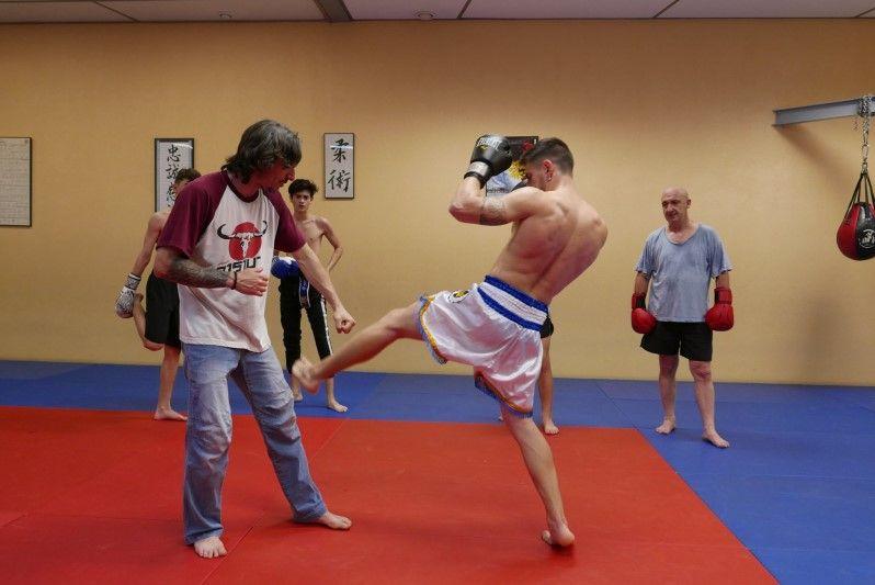 Donde practicar Muay Thai en Mollet del Vallès,Barcelona, Gimnàs Pantiquet