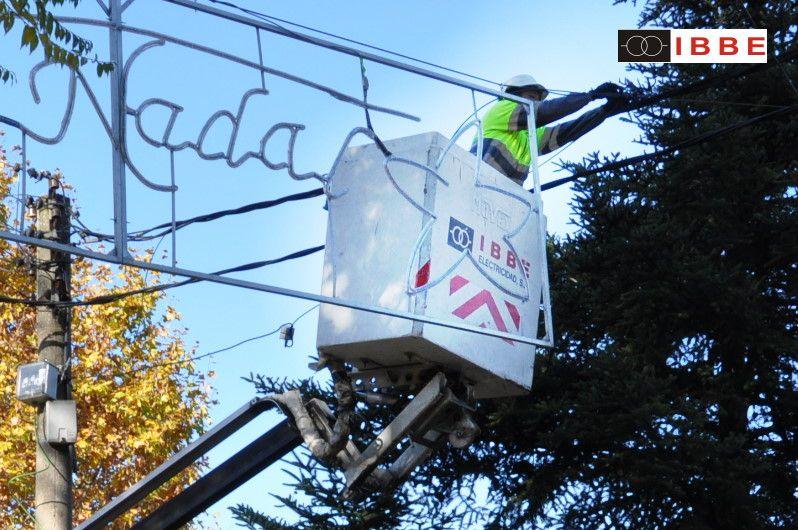 Eficiencia energética en alumbrado de Navidad e instalaciones industriales, IBBE de Montcada,Barcelona