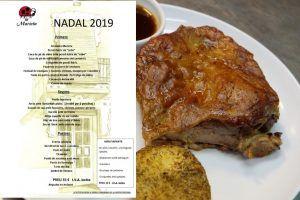 Donde comer estas fiestas de Navidad 2019 y reyes,restaurante la Marieta, Mollet,Barcelona