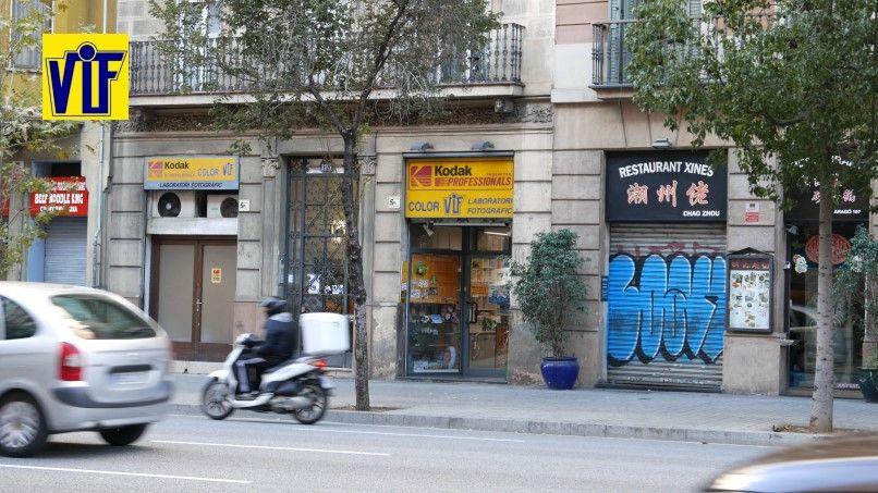 Tienda de fotos digitales y analógicas baratas en Barcelona, Colovif