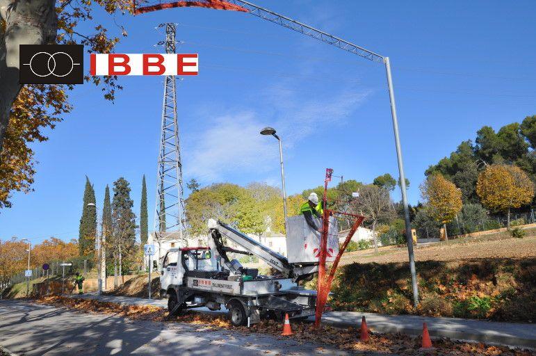 Instalaciones eléctricas industriales alumbrado público, Navidad 2019 IBBE