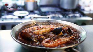 Donde cenar arròs socarrat la Marieta, restaurante en Mollet una especialidad gastronómica