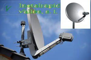Antenas parabólicas en Barcelona, Instalrapid Vallès, instalaciones muy cerca de aquí